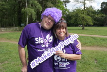 Norfolk woman tackles windmill climb for the Stroke Association
