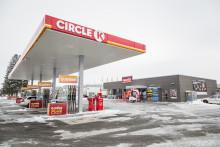 Nu är Circle K:s nya station i Ulricehamn invigd