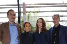 Jenny Kallunki receives the 2017 Eklund Foundation Scholarship