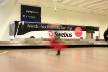 Swebus utökar flygtransfern till Arlanda - 28 nya turer per vecka