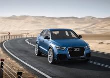 Audi RS Q3 concept visas på bilsalongen i Peking