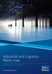 EMEA Industrial and Logistics Rents Map - September 2011