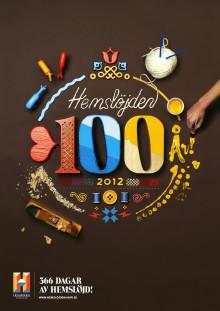 POSTKODLOTTERIET STÖDJER HEMSLÖJDENS 100-ÅRSJUBILEUM