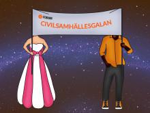 Pressinbjudan: Civilsamhällesgalan