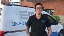 Att jobba på Einar Mattsson — Eleni berättar hur det känns att bli sedd