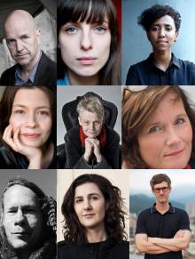 Litterära arbetsstipendier på 100 000 kr till nio författare