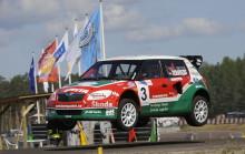 Rallycross-EM: Jernberg upp i EM-ledning