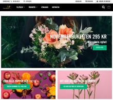Interflora öppnar ny e-butik och webb med stöd av Episervers molnplattform