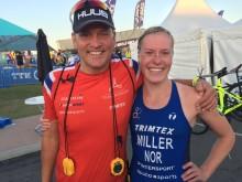 Flott løp i sesongens viktigste konkurranse for Lotte Miller
