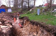 NSVA bygger ut kommunalt vatten och avlopp i Hov, Båstad kommun