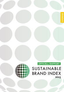 Sustainable Brand Index 2015 Sverige officiell rapport