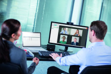Webbkonferenser erbjuder flexibla möten