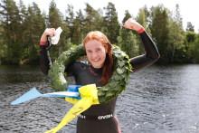 En strålande dag för Vansbro 10K och Swimrun