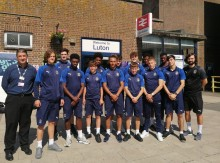 Hats off to GTR for 12 years' support for Luton Town FC youngsters