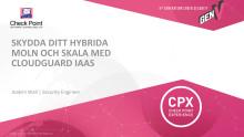 Skydda ditt hybrida moln och skala med CloudGuard IaaS