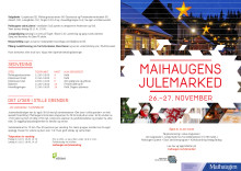 Program for Maihaugens julemarked 2016 (PDF)