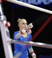 Riktigt bra kvaldag för svenskorna på VM i artistisk gymnastik