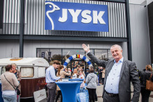 JYSK firar 40 år och öppnar sin första butik i Irland