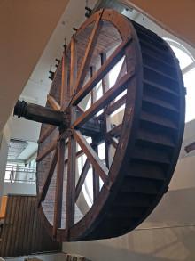 Vannhjulet på Teknisk museum skal i drift igjen
