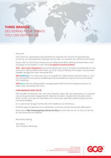 Rebranding of GCE Group