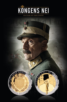 Kongens nei – på kino 23. september. Samtidig er den offisielle minnemedaljen utgitt fra Det Norske Myntverket