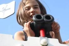 Första spadtag för lekplats skapad av barnen