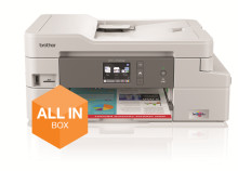 Brother 'All in Box' in première - Inkjetprinters met inkt en garantie voor 3 jaar zorgeloos printen