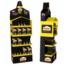 DS Smith utvecklar säljande display för Pattex, ett varumärke från Henkel