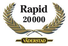 Rapid nummer 20 000 överlämnades på Agromek