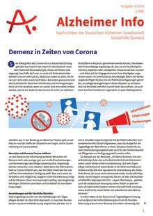 Alzheimer Info 2/2020: Bewegung und Sturzprophylaxe bei Demenz