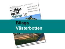Mäklarsamfundet oktober 2010: Västerbotten