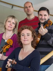 Duncankvartetten spelar i Simrishamn