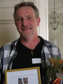 Årets turistentreprenör i södra Småland är Ola Abrahamsson på Korrö