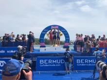 Gustav Iden fra Bergen tok tredjeplassen i dagens VM-runde i Bermuda