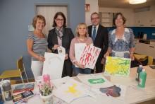 Sparkassen-Stiftung unterstützt in Meerbusch eine  Kunsttherapeutische Begleitung für neurologisch kranke Jugendliche und ihre Eltern