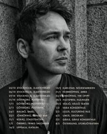 Joel Alme utökar vårens turné med fem nya datum