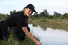 Discovery-stipendiat deltar i ActionAid-projekt för vatten och mat