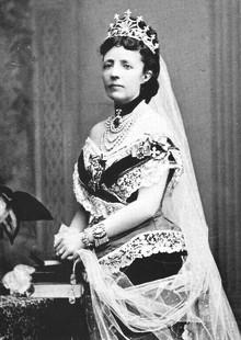 Pressvisning av utställningen Sophia-drottning i tiden på Sofiero