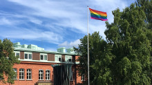 Tiohundra på Roslagen Pride
