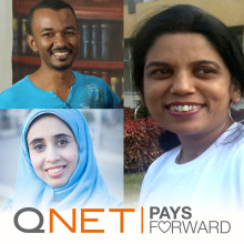 QNET Pays it Forward through Charity Grants Worth USD 30k