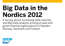 "Download the report ""Big Data in the Nordics 2012"""
