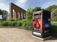Smarta soptunnor gav gott resultat i Kristianstad