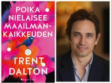 HarperCollins julkaisee vuoden kirjatapauksen: Trent Daltonin romaanin Poika nielaisee maailmankaikkeuden