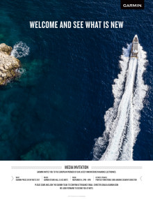 METS 2017  - se nyheter fra Garmin marine