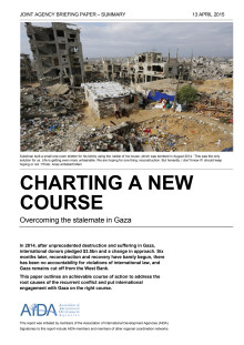 Summary: Charting a new course - Overcoming the stalemate in Gaza