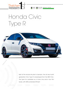 Thatcham 1st : Honda Civic Type-R