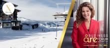 Sveriges Radios Vd Cilla Benkö - en av inspiratörerna under Deloittes kvinnliga nätverk i Åre
