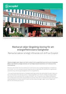 Kundcase: Markaryds kommun energieffektiviserar fastigheter