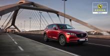 Nye Mazda CX-5 med 5 stjerner i Euro NCAP
