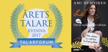 Årets Talare författardebuterar i september